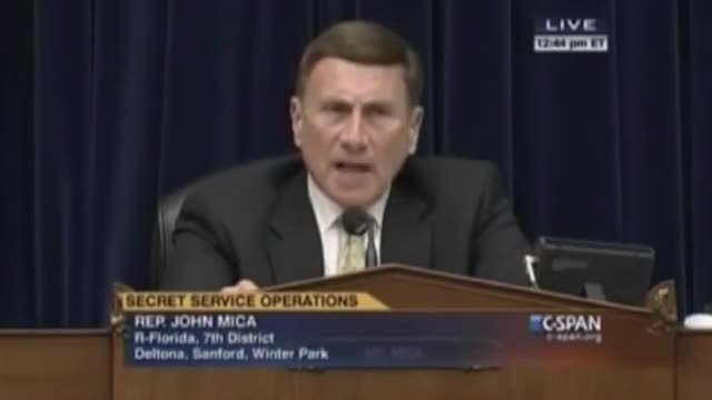 Rep. Mica: My Home Security System Works Better Than the White House's