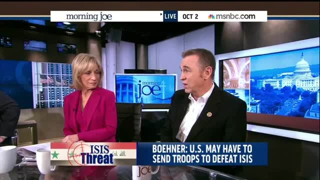 Andrea Mitchell Laughs Along with Republican Congressman at Obama's Lack of Credibility