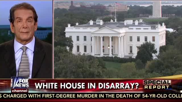 Krauthammer: White House in Disarray