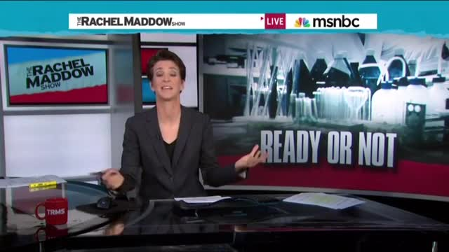 Wrong, Maddow - an American did not bring Ebola to the US