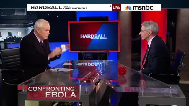 MSNBC's Chris Matthews: Fed Response to Ebola Reminds Him of Rudderless ObamaCare Rollout
