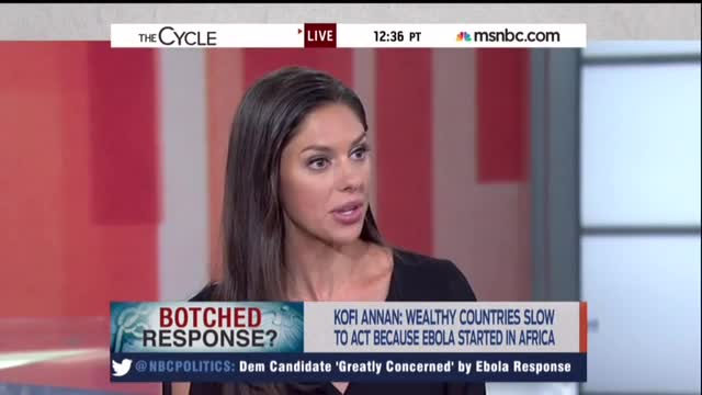 'Conservative' Abby Huntsman Enthusiastically Opposes Ebola Travel Ban
