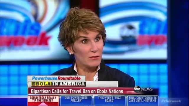 Mary Matalin Slams Tavis Smiley On Ebola: 'Our CDC Now Stands For Cannot Do Containment'