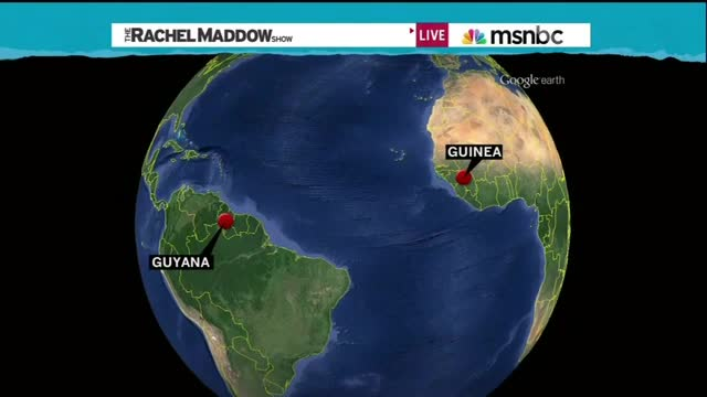 Maddow Mocks Republican's Geography Mistake, But Made A Big One Herself Last Month