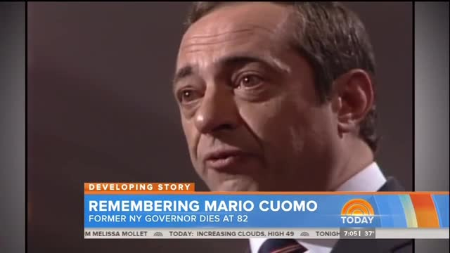Networks Remember 'Spellbinding' 'Liberal Lion' Mario Cuomo