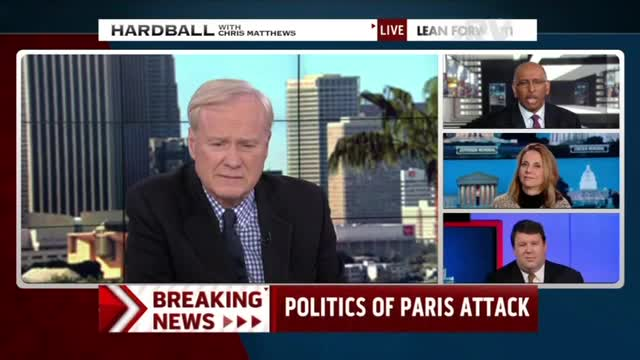 Chris Matthews, Michael Steele Rush to Defend Obama from Paris Terror Criticism