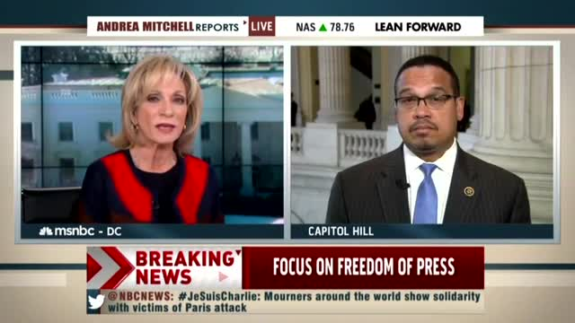 NBC's Andrea Mitchell Frets Over Muslims 'Under Fire' in Europe