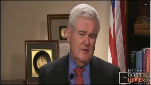HuffPost Live Gingrich