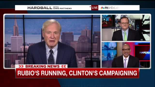 MSNBC's Chris Matthews Waits All of Two Minutes to Bring Up Race Re: Clinton Video