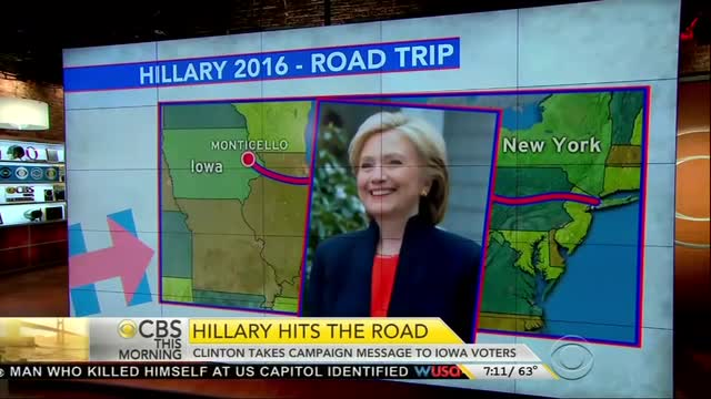 CBS Promotes Man Featured In Clinton Campaign Video