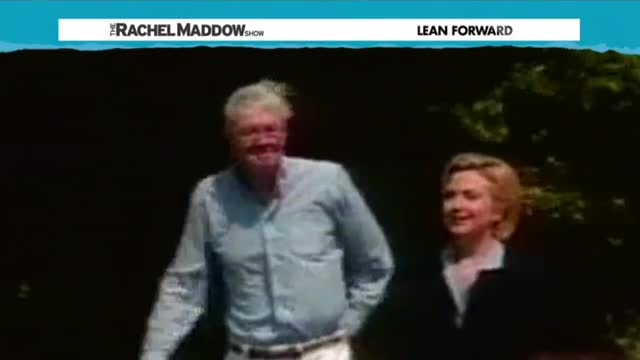 Hillary Clinton Is So 'Very Good' at Campaigning, Rachel Maddow Gushes