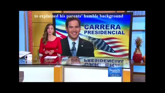 """Univision Hypes """"Immigrant Fears"""" of Rubio"""