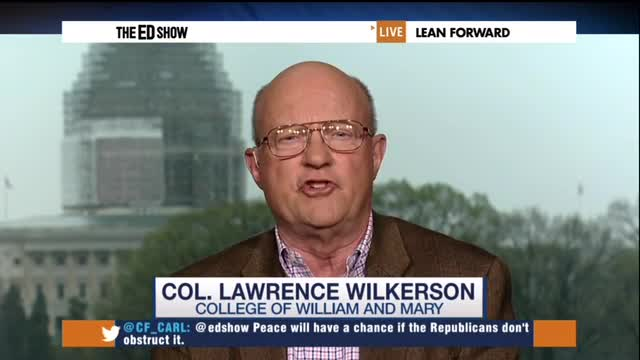 Fmr. Colin Powell Aide: 'Won't Say What I'd Like to do' To Schumer for Supporting Israel