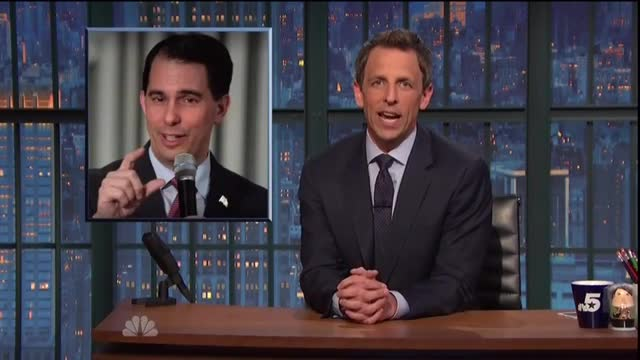 Seth Meyers Repeatedly Bashes GOP Presidential Candidates