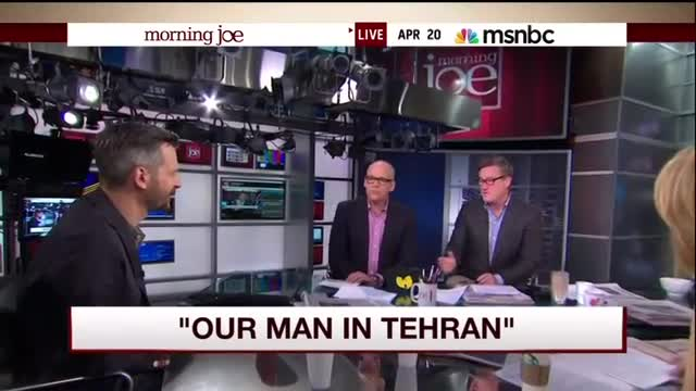 """Joe Scarborough: Iran Leaders and Citizens Like """"Red States"""" and """"Blue States"""""""