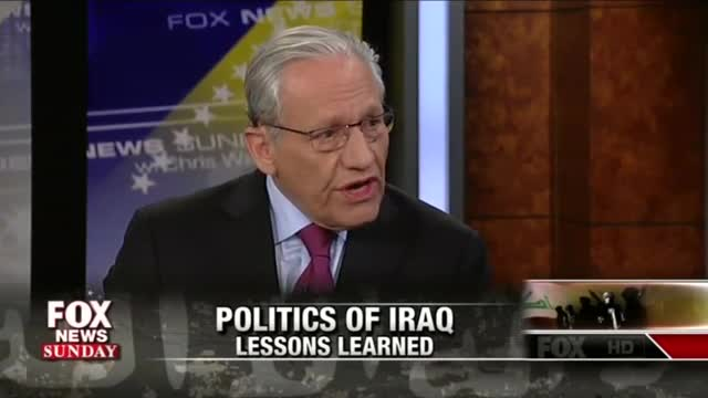 Bob Woodward: Wrong, Bush Did Not Lie Us Into Iraq