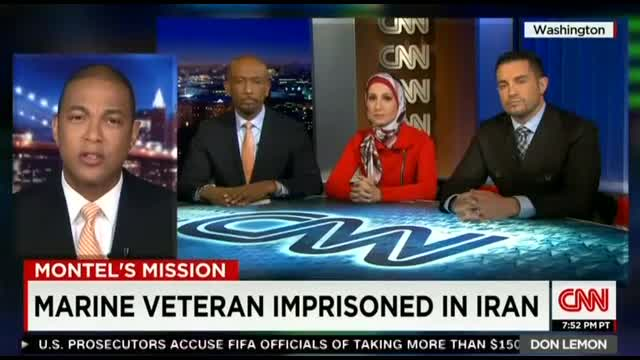 CNN Covers Plight of Marine Held By Iran; ABC, CBS Out to Lunch Since 2013