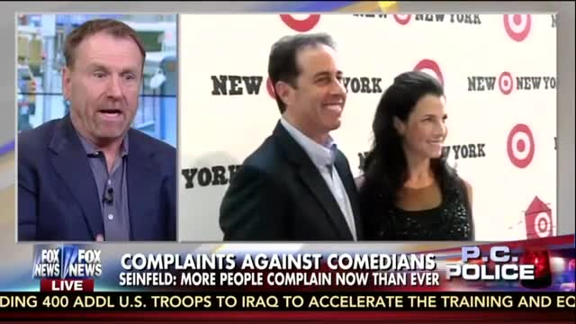 Comedian Colin Quinn Agrees With Jerry Seinfeld: People 'Are Too PC'