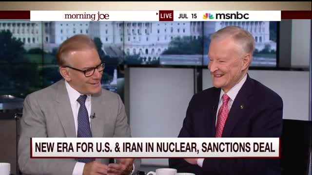 Zbigniew Brzezinski Dismisses Bibi's Criticism of Iran Deal: 'Not a Serious Person'
