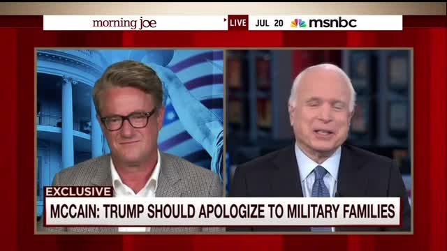 McCain: 'Term of Endearment' To Call Trump Supporters 'Crazies'