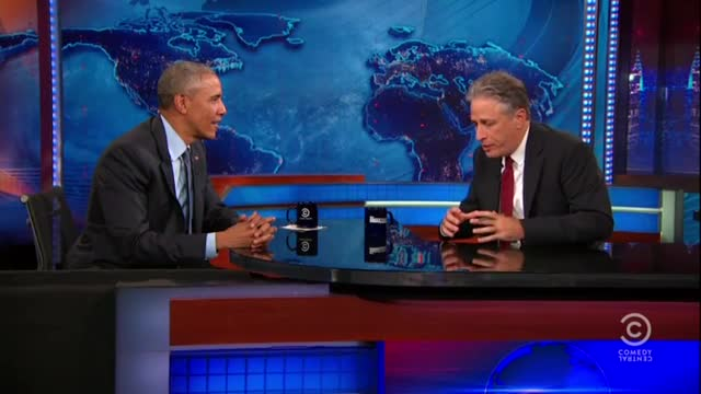 Jon Stewart to Obama: 'Are We Demanding Too Much of You?'