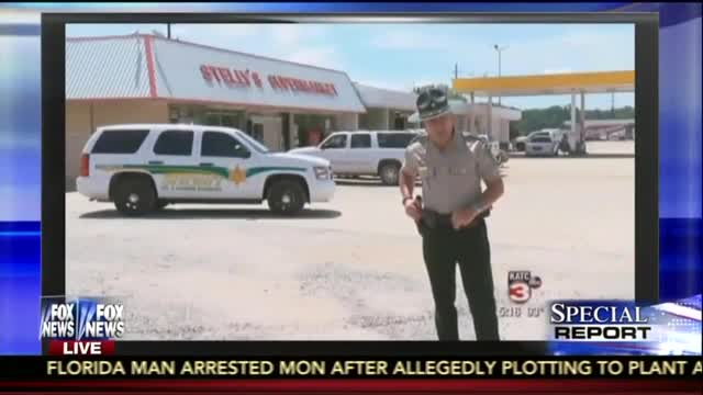 Saturday Night Funny Video: A Tough Talking Louisiana Deputy Takes on a Thief