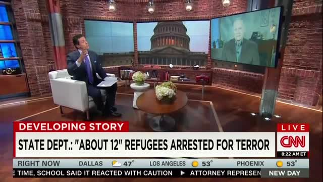 CNN's Cuomo Frets US Will 'Help ISIS' by Barring Refugees, 'Blaming the Victims'
