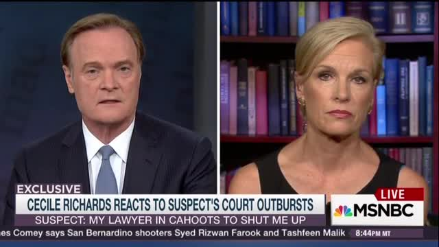 Lawrence O'Donnell Interviews Cecile Richards