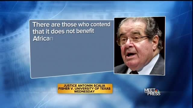 Chuck Todd Smears Scalia: 'I Couldn't Help But Think of Al Campanis'
