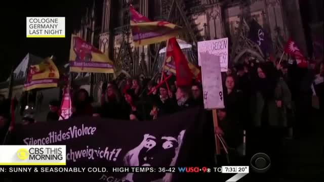 CBS Covers Germany New Year's Eve Assaults