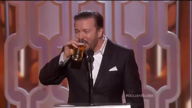 73rd Annual Golden Globe Awards Opening Monologue - Ricky Gervais