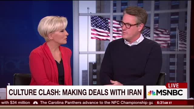 Sarcastic Mika on Criticizing Iran Deal: 'Well, Let's Go to War'