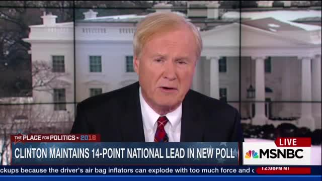 Chris Matthews Hails the Real Liberals, The Ones Who 'Cry Sometimes'