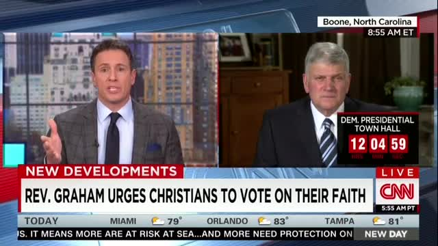 Rev. Graham: 'Our Country Is In Trouble'