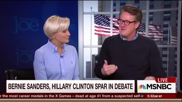 Scarborough: Leaving Iowa, Top Journalists Quietly Told Me 'You Know Bernie Won'