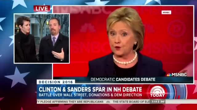 Nets Hail 'Real Moment' in Debate for 'Fierce' and 'Forceful' Hillary