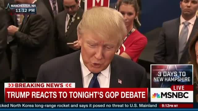 NBC's Jackson, Tur Try, Fail to Get Trump to Say Rubio Hurt in ABC Debate