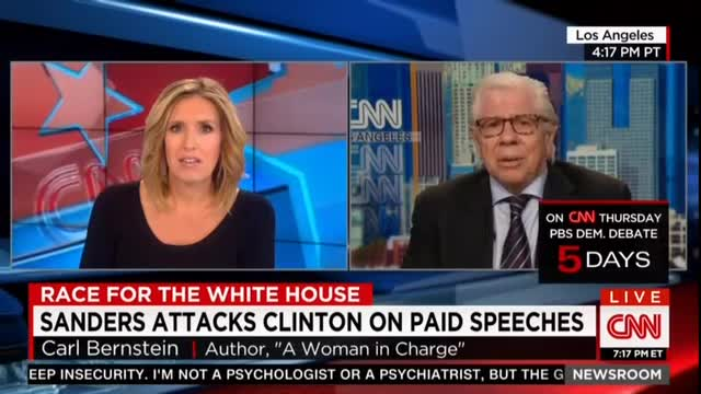 Bernstein: Obama White House 'Terrified' Hillary Clinton Is 'Blowing Up Own Campaign'