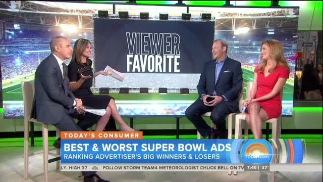 Today's 'Viewer Favorite' from Super Bowl