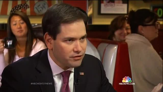 Double Standard: NBC's Holt Hits Rubio with 'MaroRobot' Attacks; 'Winced' at Criticism to Hillary