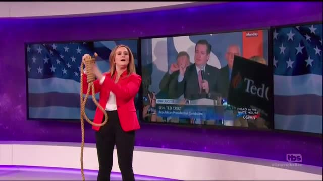 Samantha Bee's TBS Show Debuts with Vile Slam of 'Fish-Faced, Horses*** Salesman' Cruz