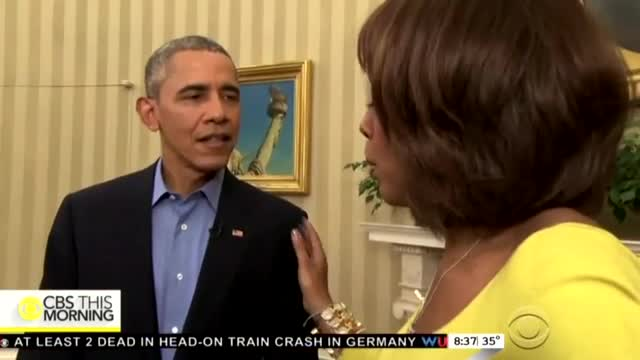 CBS Interview Devolves Into Asking Obama What's in His Pockets