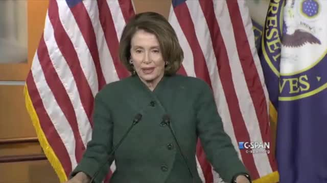Pelosi Wants to Discuss Requiring All Young Women to Register for the Draft
