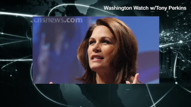 Bachmann on Selective Service for Women: Leftists Who Want to End 'Male-Female,' That 'Gender Doesn't Matter'