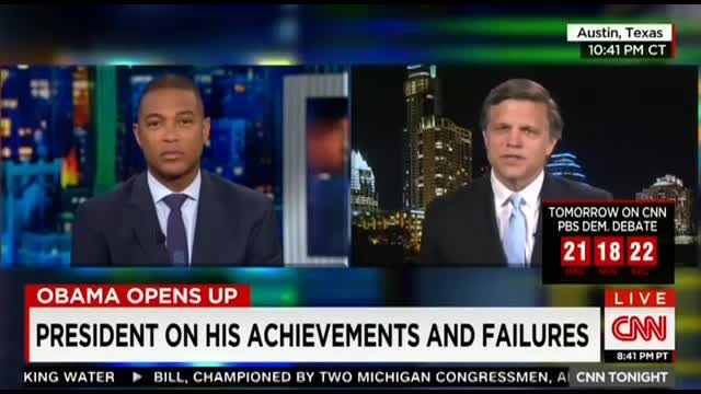 CNN's Brinkley Gushes Over Obama 'Preaching the Gospel of Civility'