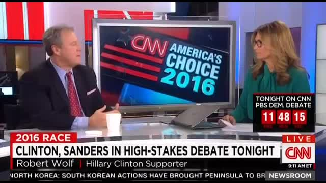 CNN's Costello: 'Old, White, Rich' Labels of Hillary 'Really Harsh'