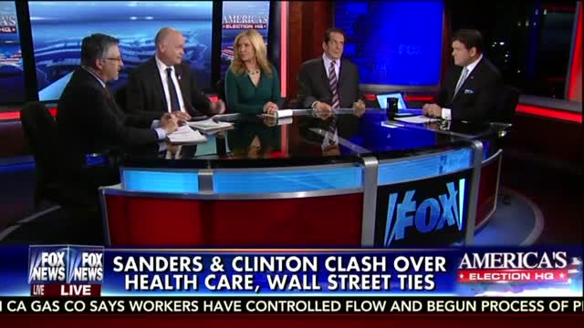 FNC Panel Excoriates PBS Moderators, Sanders for Not Mentioning Hillary Clinton's Scandals
