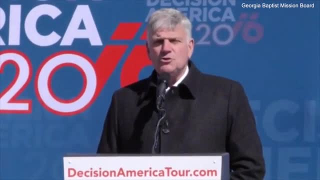 Rev. Graham: Transgender Men in Women's Bathroom Is 'Wicked' and 'Evil'