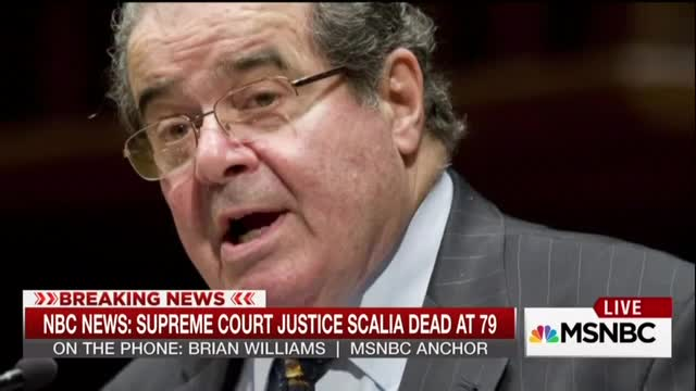 Brian Williams: Originalists Like Scalia Failed to 'Anticipate Abortion,' Air Travel, iPhones