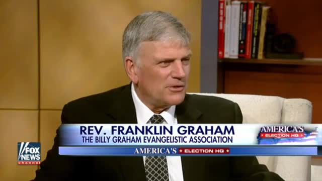 Rev. Graham: 'We've Taken God Out of the Public Space, I Want to Put Him Back In'